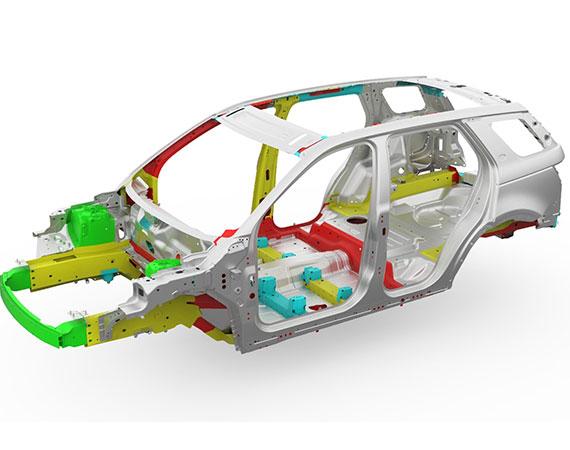 Land Rover Aluminium Repairs